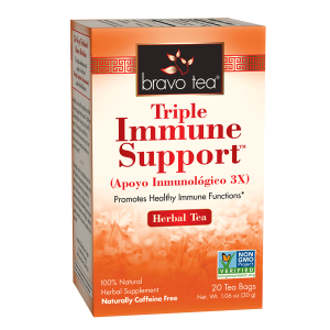 Triple Immune Support Tea By Bravo